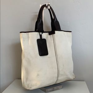 Authentic YSL Canvas Tote